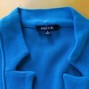 Misook jacket, M, One button, brand new